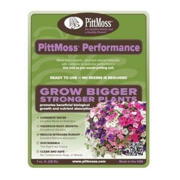 Sample - PittMoss Performance Potting Mix - 1 Cubic Foot