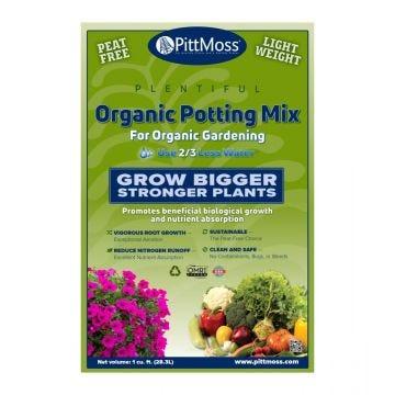 PittMoss Plentiful Organic Potting Mix