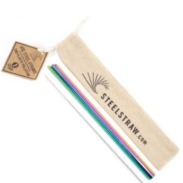 Rainbow Boba Straw Gift Set - Case of 24