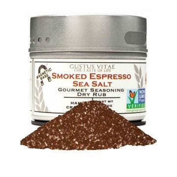 Smoked Espresso Sea Salt - Case of 8