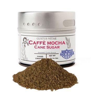 Caffè Mocha Cane Sugar - Case of 8