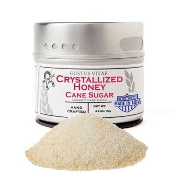 Crystallized Honey Cane Sugar - Case of 8