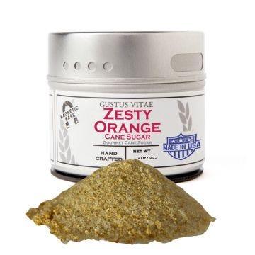Zesty Orange Cane Sugar - Case of 8