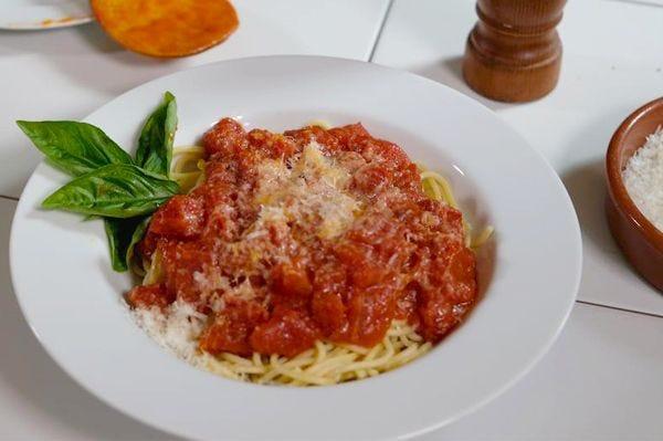 Marcella Hazan's Tomato Sauce recipe.