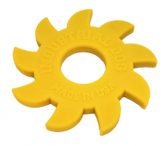 ID Nylon Circular Saw Blade - Yellow Dog Toy
