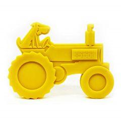 ID Nylon Tractor Yellow Dog Toy
