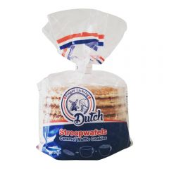 8 Pack Caramel Waffle Stroopwafel Dutch Cookies - Case of 12