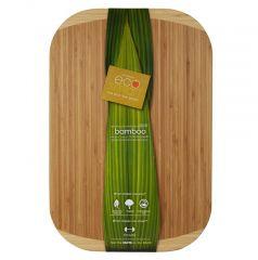 12 x 18 inch Formaldehyde-free Bamboo Cutting Board - Case of 6