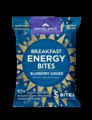 Organic Breakfast Energy Bites-Blueberry Ginger, 8ct