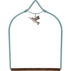 Pop's Hummingbird Swing - Charmed Teal