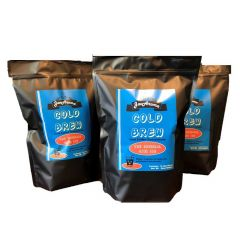 Cold Brew Coffee Bulk Kit, makes 3 gallon of concentrate - Case of 5