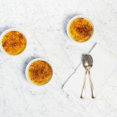 Créme Brulée with Vanilla Sugar