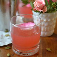 Elderflower Rose Gimlet