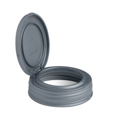 Sample - reCAP® Mason Jars Lid FLIP Cap, Regular Mouth, Silver