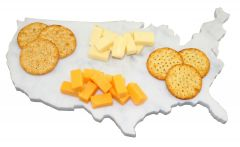 United States Of America Marble Cheese Board