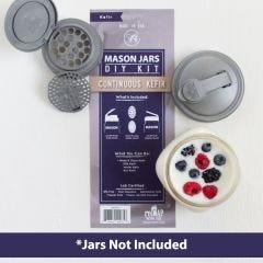 reCAP® Mason Jars DIY Kit: Continuous Kefir
