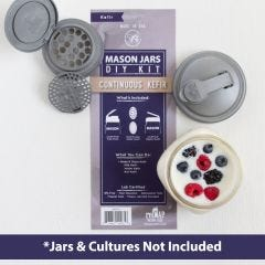 Sample - reCAP® Mason Jars DIY Kit: Continuous Kefir