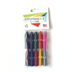 Effortless Art Crayons Level 2 10 Pack