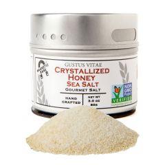 Crystallized Honey Sea Salt - Case of 8