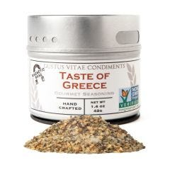 Taste of Greece Gourmet Seasoning - Case of 8