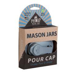 reCAP® Mason Jars POUR Cap Lids Wholesale, Packaged