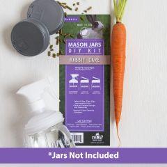 reCAP® Mason Jars DIY Kit: Rabbit Care - Case of 6