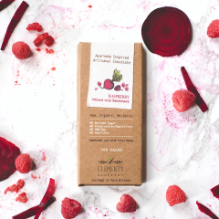 Raspberry with Beetroot Infusion Artisan Chocolate - Case of 10