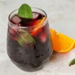 Red Wine Winter Spritzer