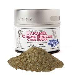 Caramel Crème Brûlée Cane Sugar - Case of 8