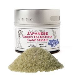 Japanese Green Tea Matcha Cane Sugar - Case of 8