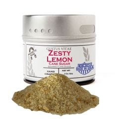 Zesty Lemon Cane Sugar - Case of 8