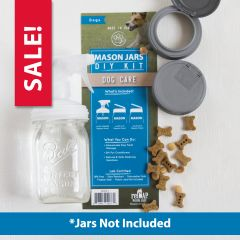 reCAP® Mason Jars DIY Kit: Dog Care - Case of 6