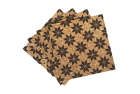 Eight-Pointed Star Quilt Pattern Cork Coasters