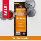 reCAP® Mason Jars DIY Kit: Storing Honey - Case of 6