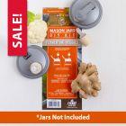 reCAP® Mason Jars DIY Kit: Fermenting Veggies - Case of 6