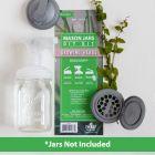 reCAP® Mason Jars DIY Kit: Growing Herbs - Case of 6