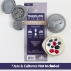 reCAP® Mason Jars DIY Kit: Continuous Kefir - Case of 6