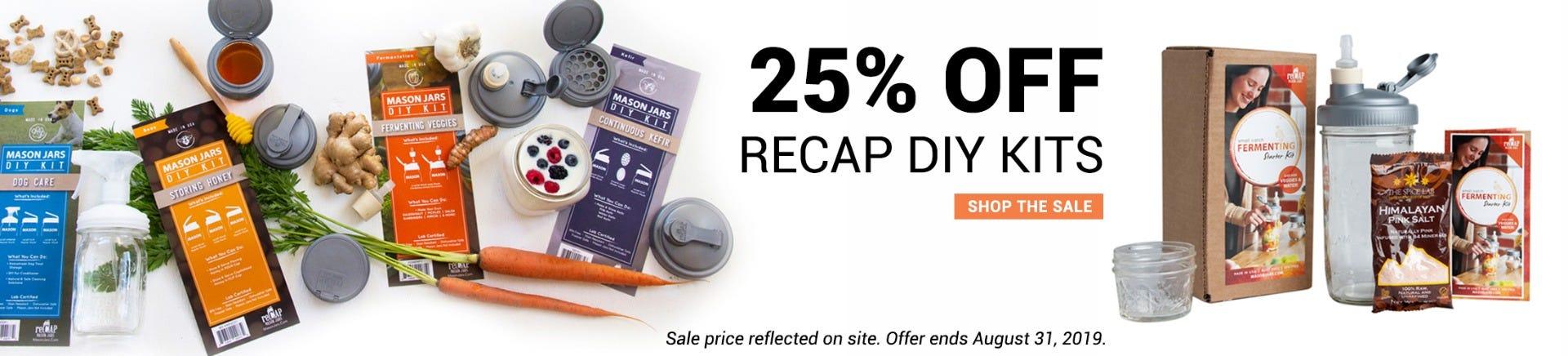 Shop recap DIY Kits